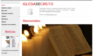 Web I. cristo